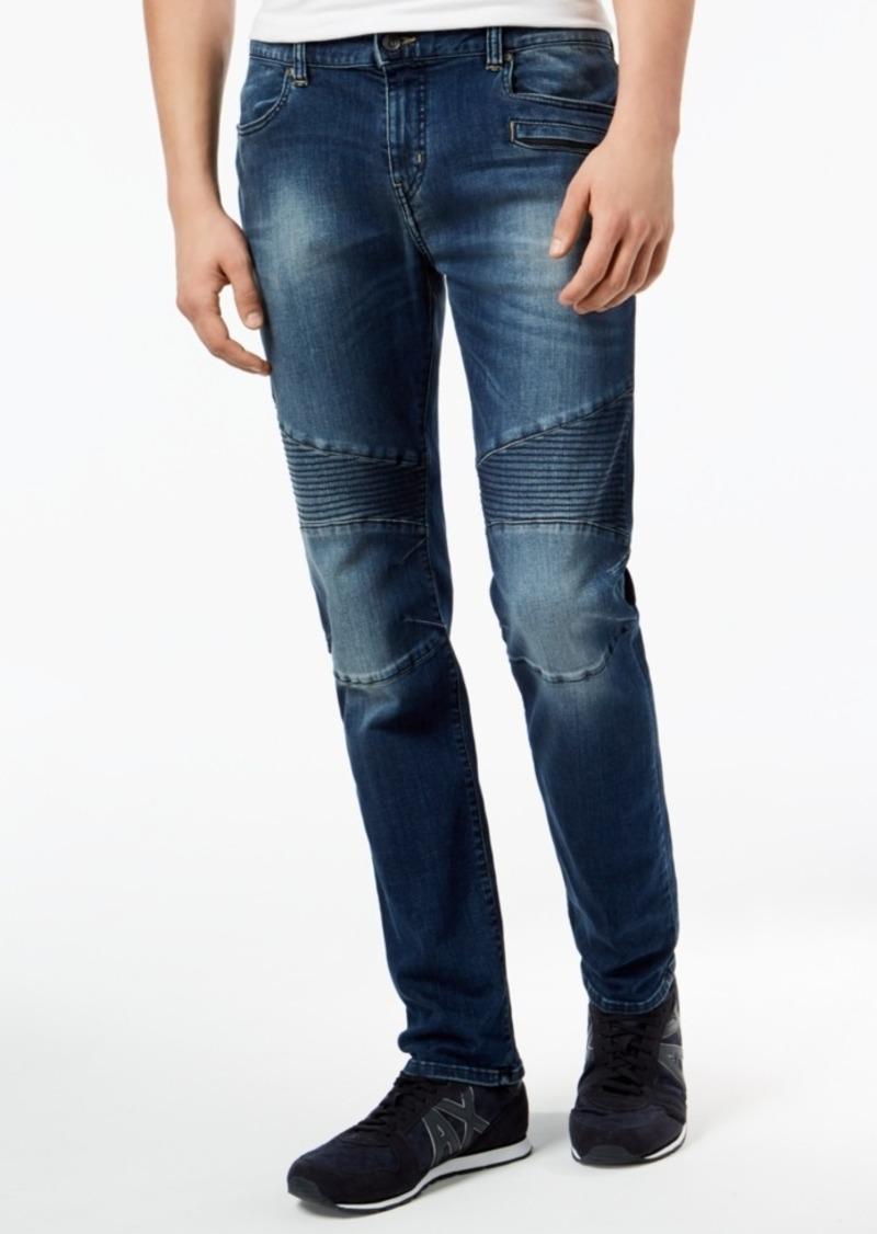8c140d09 Men's Skinny Fit Stretch Moto Jeans