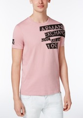 Armani Exchange Men's Slim-Fit Graphic Print T-Shirt