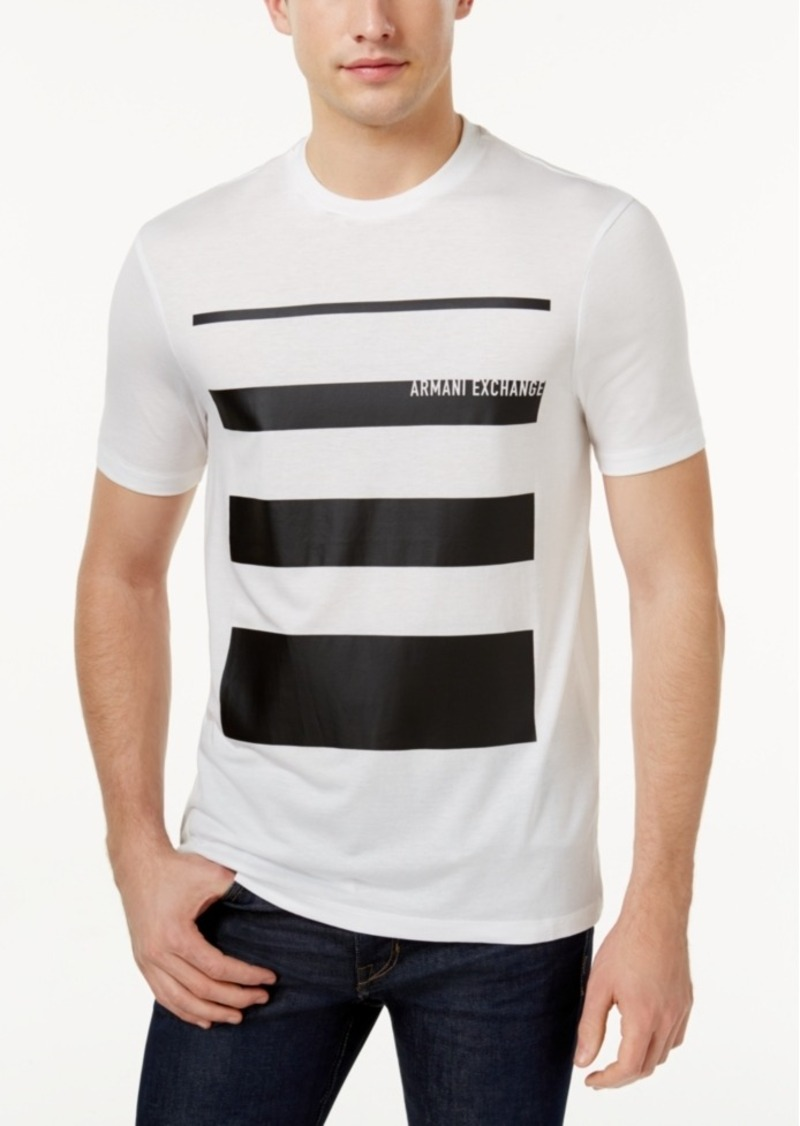 Armani Exchange Armani Exchange Men S Stripe T Shirt T