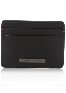 Armani Exchange Men's Two Card Holder nero