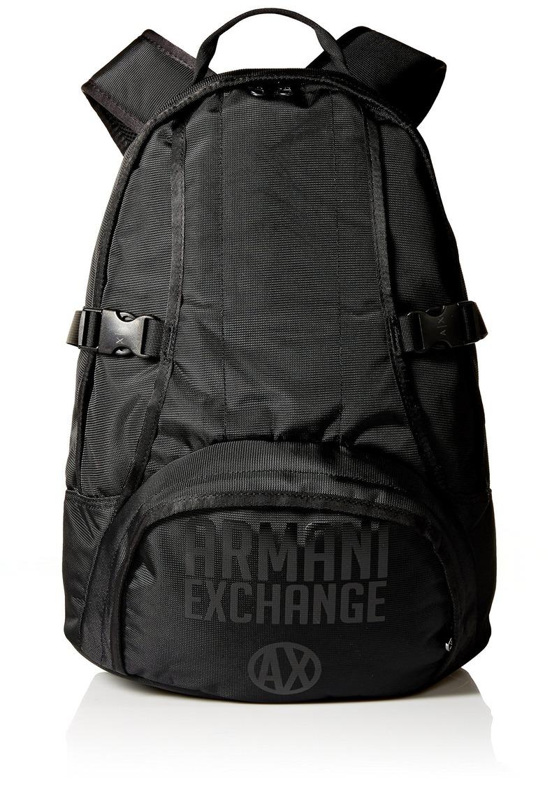36cae3f61a9 Armani Exchange Armani Exchange Men s Utility Backpack Black   Bags
