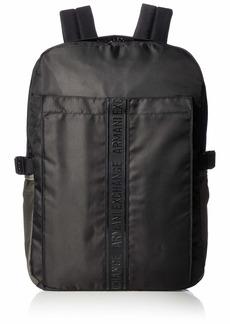 Armani Exchange Men's Utility Backpack nero ONE SIZE