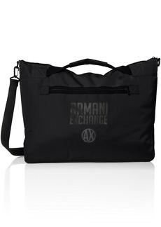 Armani Exchange Men's Utility Duffle Bag