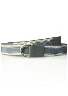 Armani Exchange Men's Webbing Reversible Belt Grey TURBOLENCE
