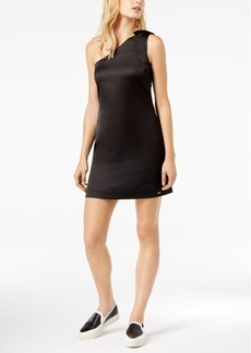 Armani Exchange One-Shoulder Bodycon Dress