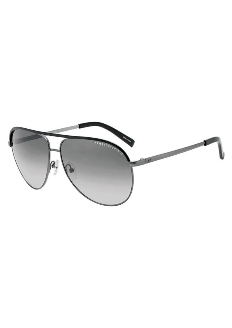 067486ab7e2 Armani Exchange Armani Exchange Pilot Aviator Sunglasses ...