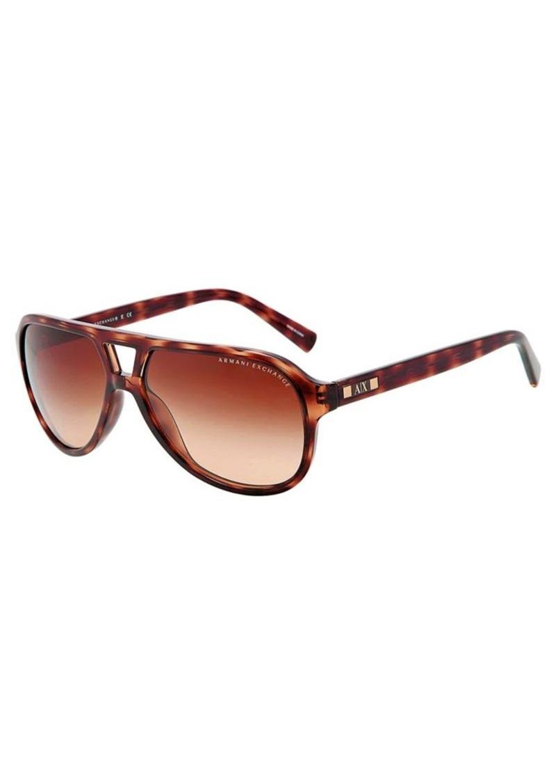 751e3978d8d Armani Exchange Armani Exchange Pilot Aviator Sunglasses