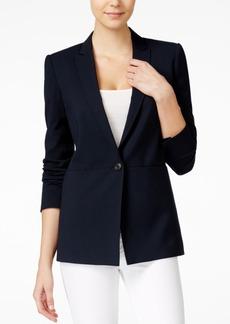 Armani Exchange Single-Button Blazer