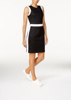 Armani Exchange Sleeveless Bodycon Dress