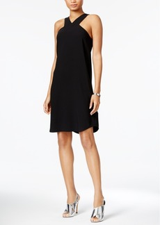 Armani Exchange Sleeveless Shift Dress