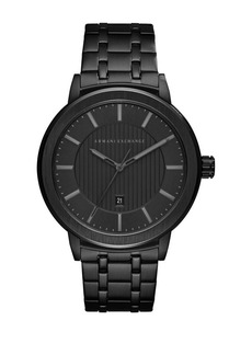 Armani Exchange Stainless Steel Polished Bracelet Watch