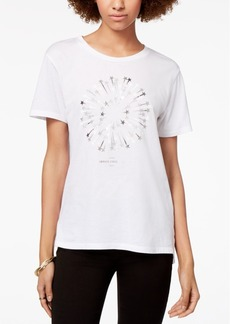 Armani Exchange Starburst Foil Logo T-Shirt