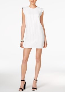 Armani Exchange Striped Sheath Dress
