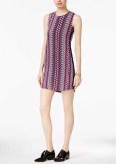 Armani Exchange Striped Shift Dress