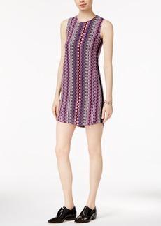Armani Exchange Striped Shift Dress