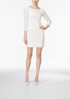 Armani Exchange Textured Bodycon Dress
