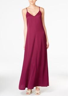 Armani Exchange V-Neck Maxi Dress