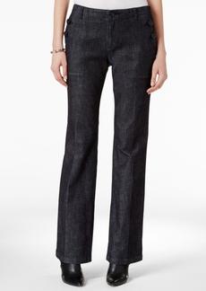 Armani Exchange Wide-Leg Denim Trousers