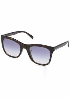 Armani Exchange Women's 0ax4082sf Square Sunglasses havana