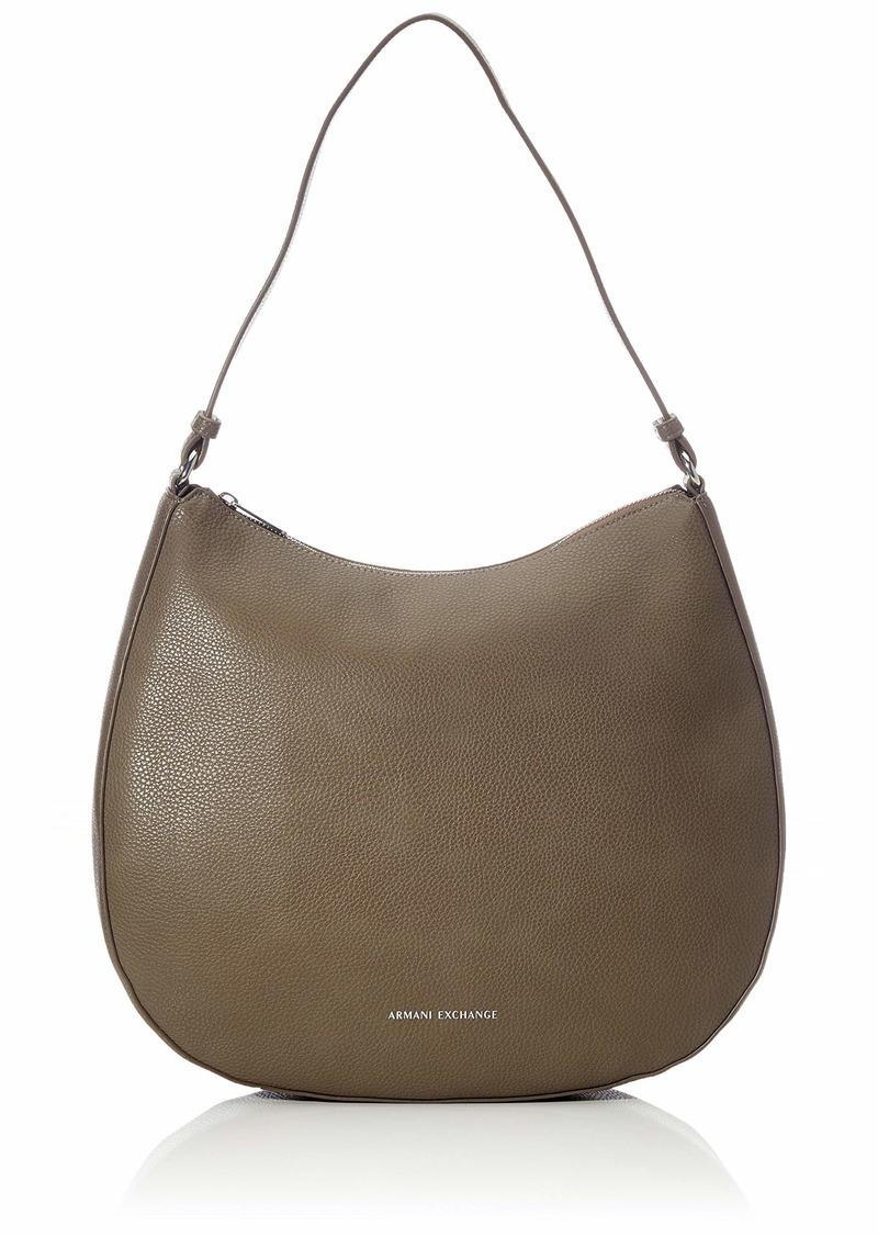 A|X Armani Exchange Hobo Bag taupe