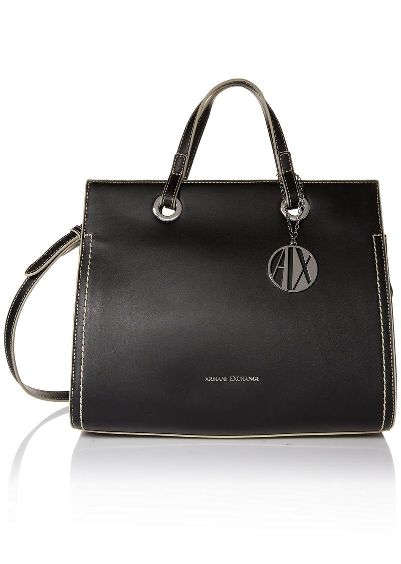 A|X Armani Exchange Medium Reversible Bucket Bag