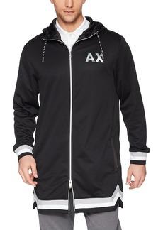 A X Armani Exchange Men's Athletic Logo Jacket  M