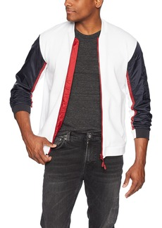 A X Armani Exchange Men's Athletic Zipper Jacket  XL