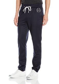 A X Armani Exchange Men's Ax Drawstring Tapered Soccer Jersey Pants