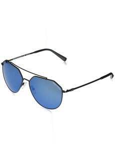A|X Armani Exchange Men's AX2023S Aviator Metal Sunglasses  59 mm