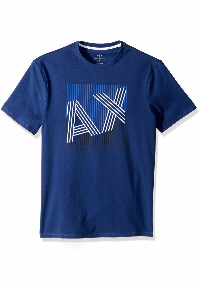 A|X Armani Exchange Men's Barcode AX Graphic tee  M