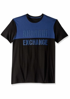 A|X Armani Exchange Men's Basketball Inspired Graphic tee  S