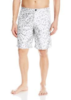 A|X Armani Exchange Men's Bermuda Logo Printed Swimsuit