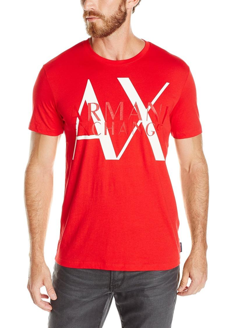 A|X Armani Exchange Men's Big Little Logo T-Shirt