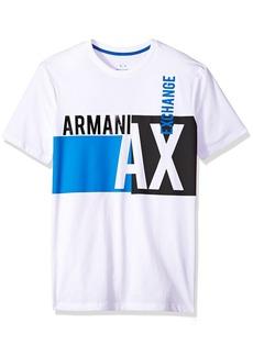 A|X Armani Exchange Men's Billboard Graphic Tee  XXL