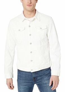 A|X Armani Exchange Men's Button Down Long-Sleeve Jacket  L