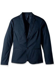 A|X Armani Exchange Men's Cavalry Twill Two Button Blazer