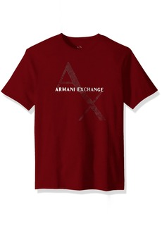 A|X Armani Exchange Men's Classic Cotton Logo tee  M