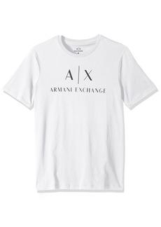 A|X Armani Exchange Men's Classic Crew Logo tee  XL