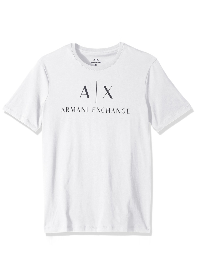 A|X Armani Exchange Men's Classic Crew Logo tee  XL