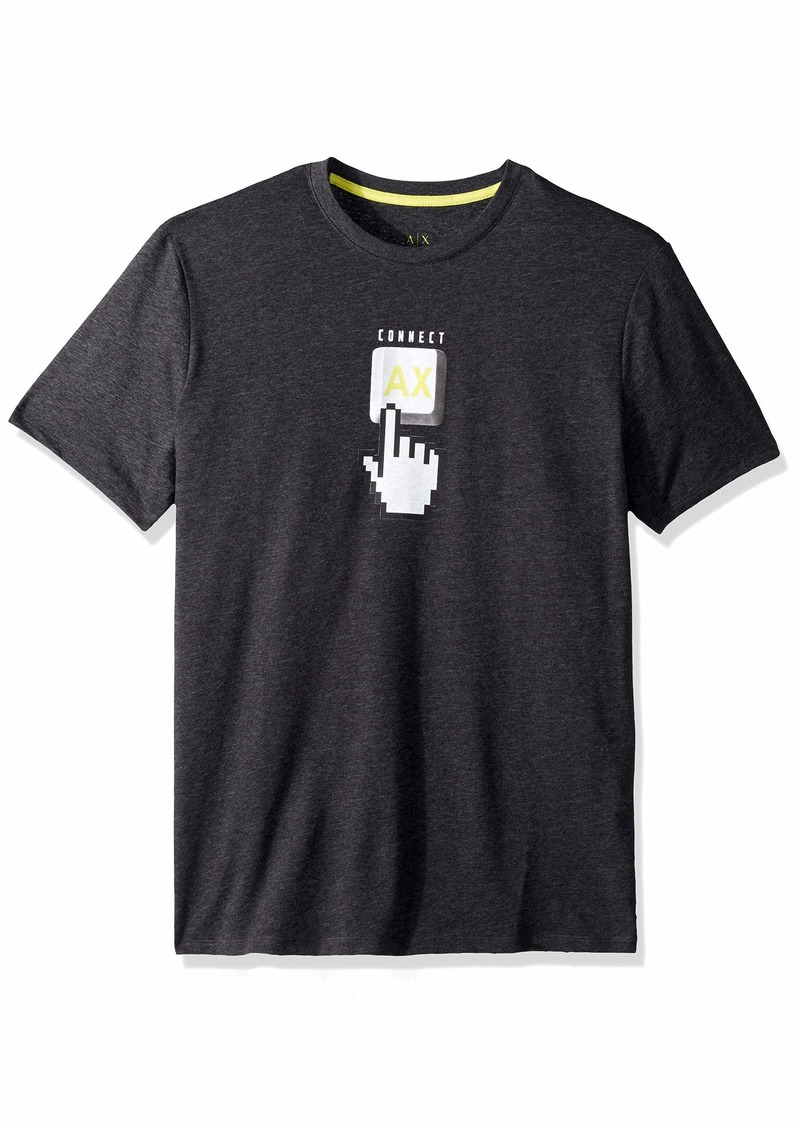 A|X Armani Exchange Men's Click Graphic tee  XXL