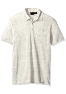 A|X Armani Exchange Men's Cotton Linen Polo