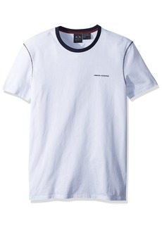 A|X Armani Exchange Men's Cotton Logo tee  S