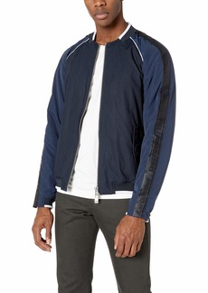 A|X Armani Exchange Men's Cotton Long-Sleeve Zip-up Jacket  S