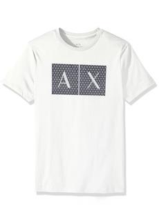 A|X Armani Exchange Men's Crew Neck Logo Tee  XL