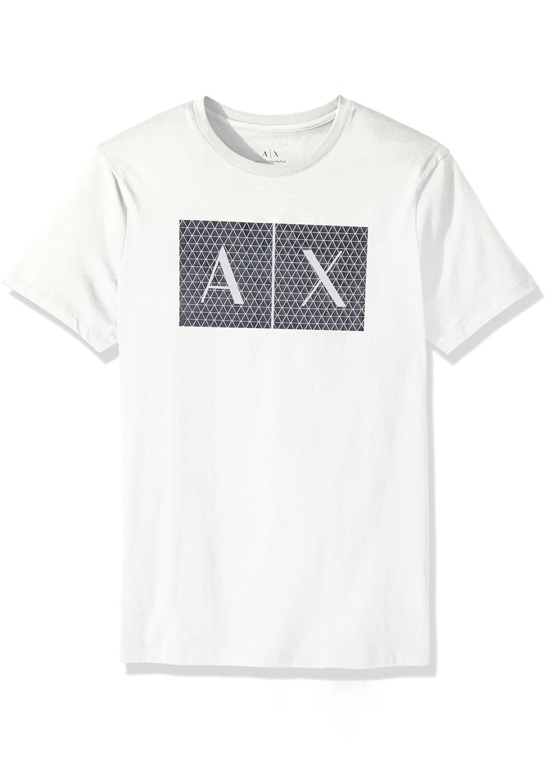 A|X Armani Exchange Men's Crew Neck Logo Tee  XL