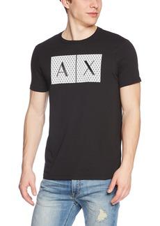 A|X Armani Exchange Men's Crew Neck Logo Tee  XXL