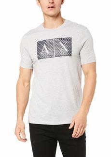 A|X Armani Exchange Men's Crew Neck Logo Tee  M