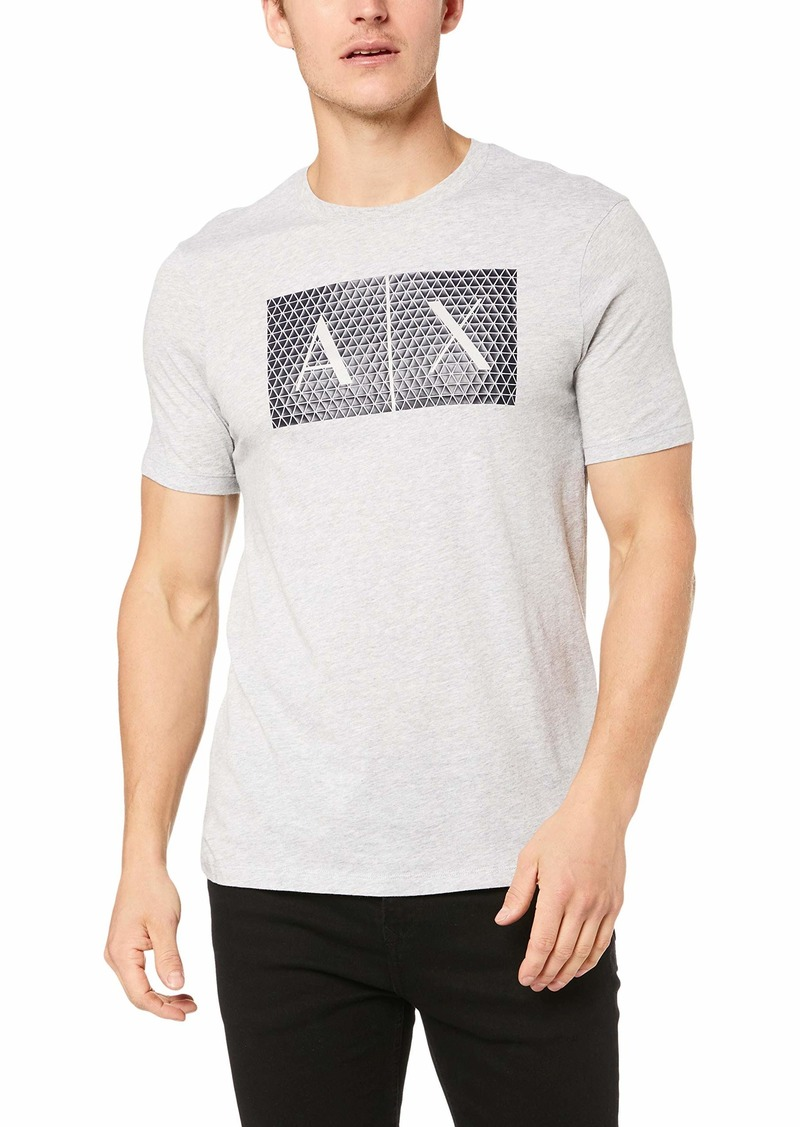 A|X Armani Exchange Men's Crew Neck Logo Tee  M