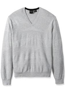 A|X Armani Exchange Men's Diamondweave Pullover  M