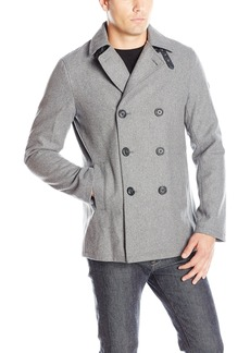 A|X Armani Exchange Men's Double Breasted Coat